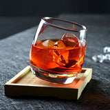Whiskey Rocking Glass
