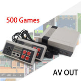 500 Game Retro Console + 2 FREE Controllers