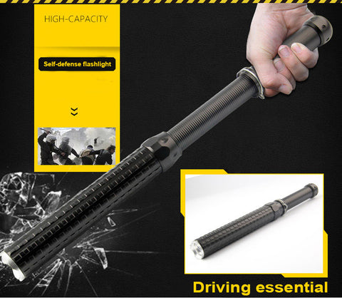Tactical Self Defense Flashlight Baton