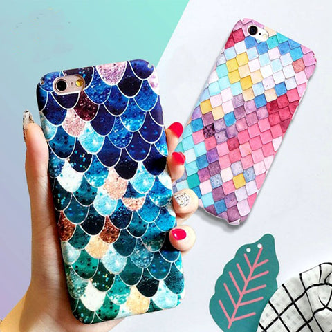 3D Mermaid Scale Phone Case