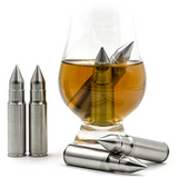 Bullet Shaped Whiskey Stones 6pc