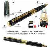 Spy Pen Video Camera HD 1080P