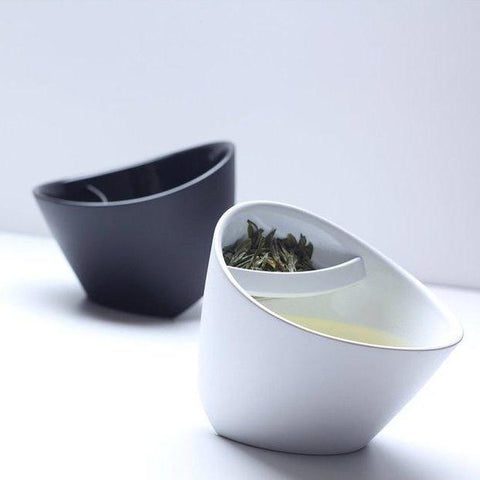 Infuser Tipping Teacup