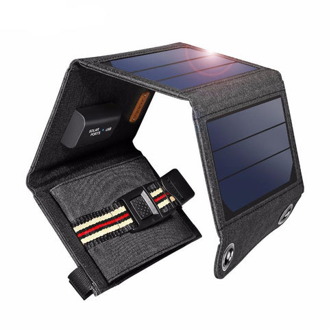 7W Portable Foldable Solar Panel Charger