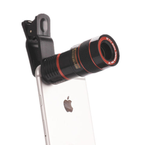 Optical Zoom Clip On Camera Monocular