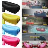 Fast Inflatable Air Sleeping Bag & Sofa