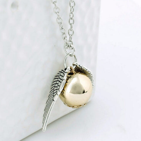 Deathly Hallows Snitch Necklace