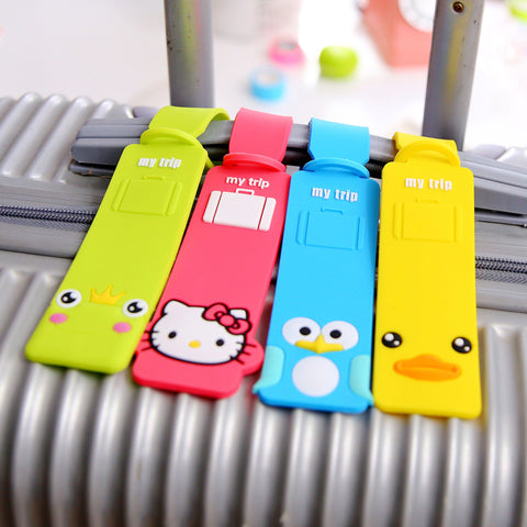Funky Colourful Luggage Tags