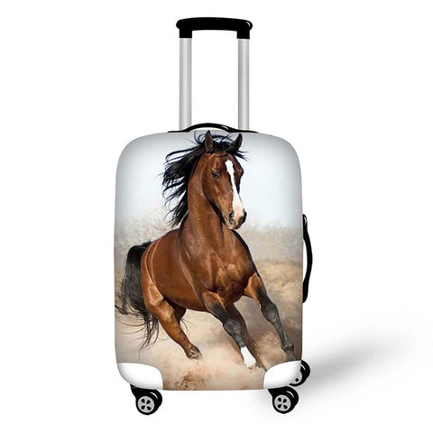 Horse Design Luggage Protector