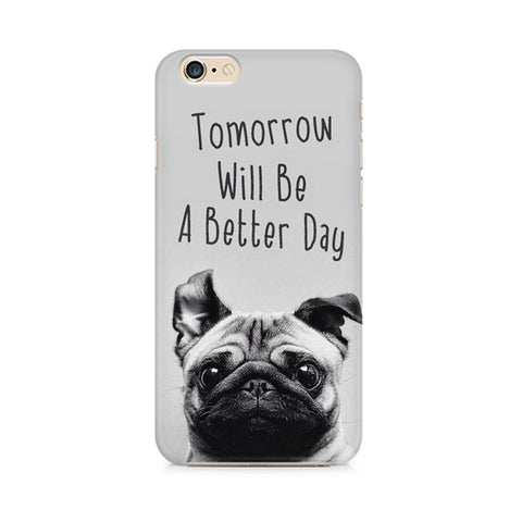 Pug Design Hard Phone Case