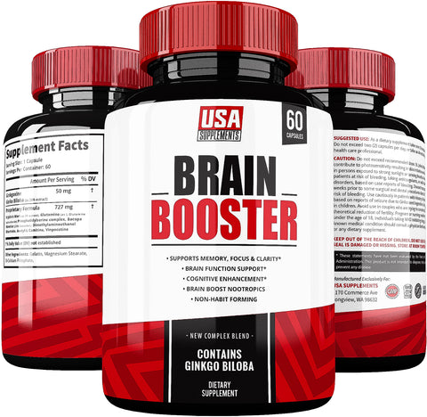 Brain Booster by USA Supplements
