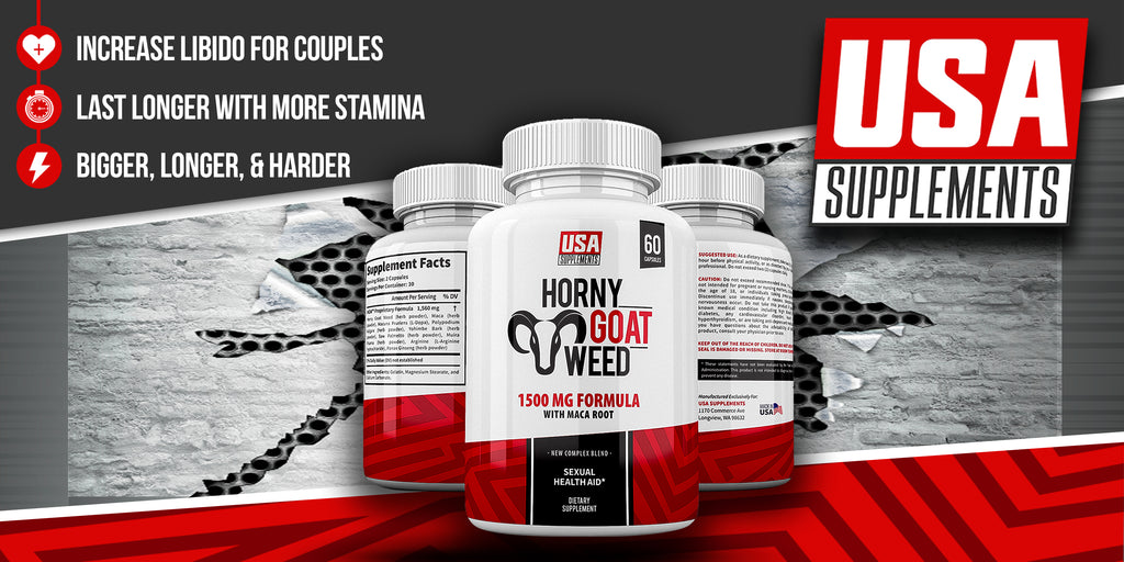 Horny Goat Weed by USA SUPPLEMENTS