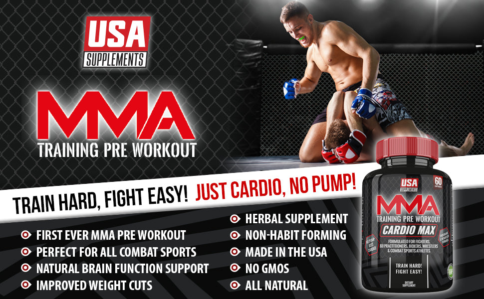 Pre-Workout For MMA Fighters and Cardio Endurance | U S A