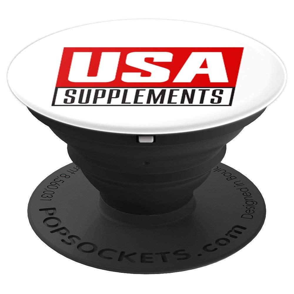 USA Supplements PopSockets Grip and Stand for Phones and Tablets - U.S.A. SUPPLEMENTS