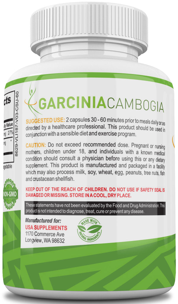 Garcinia Cambogia Pills For Weight Loss USA Supplements