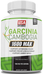 Garcinia Cambogia Pure Extract Pills For Weight Loss from USA Supplements