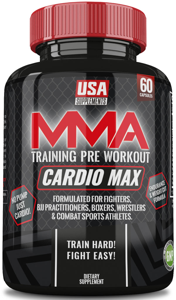 Cardio Max MMA Training Pre Workout - U.S.A. SUPPLEMENTS