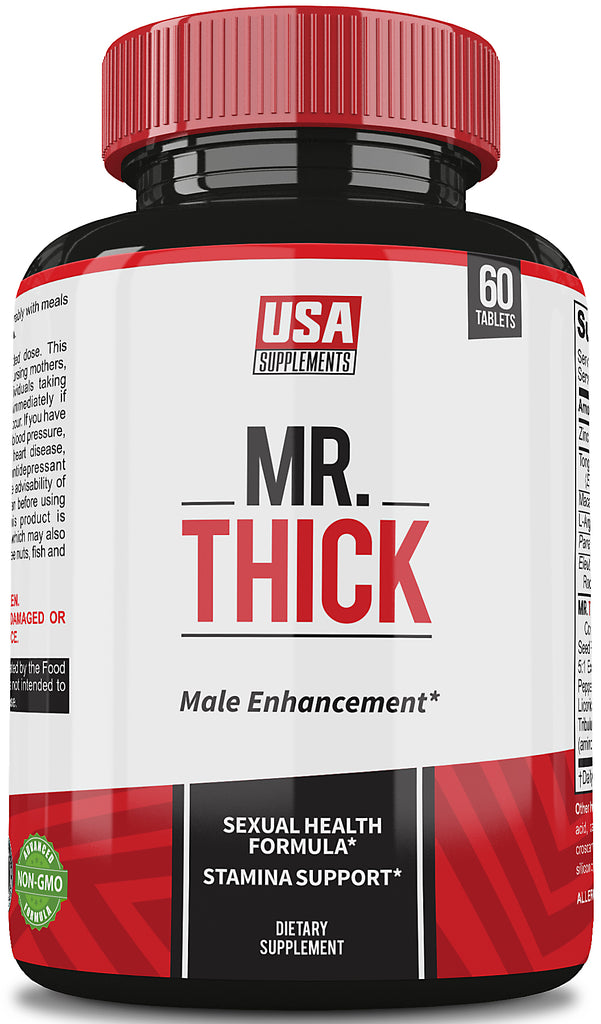 Male Enhancement Supplements 'Mr Thick. Only From USA Supplements - U.S.A. SUPPLEMENTS