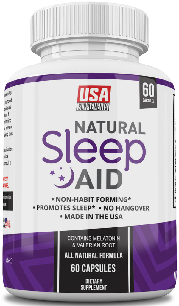 All Natural Sleep Aid and Natural Sleep Supplements From USA Supplements - U.S.A. SUPPLEMENTS