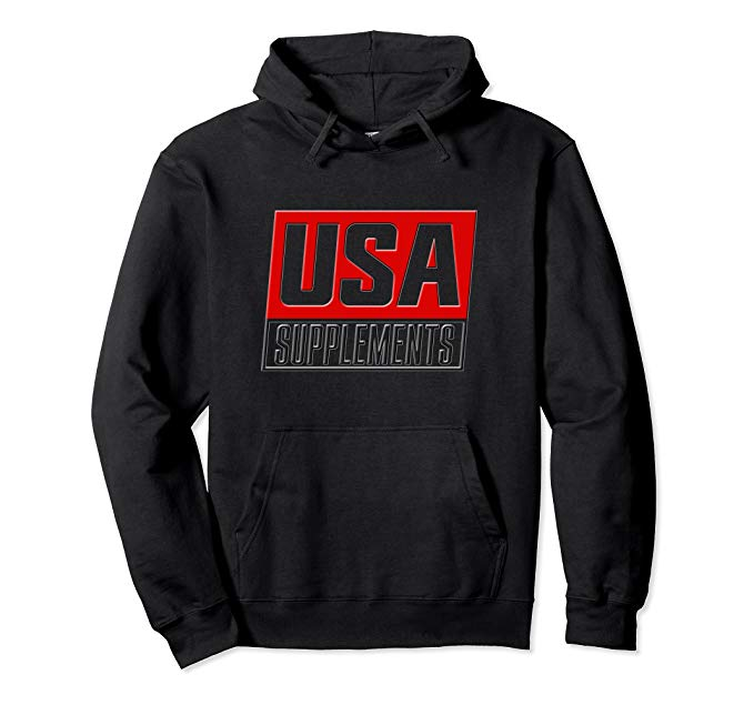 USA SUPPLEMENT HOODIE - U.S.A. SUPPLEMENTS