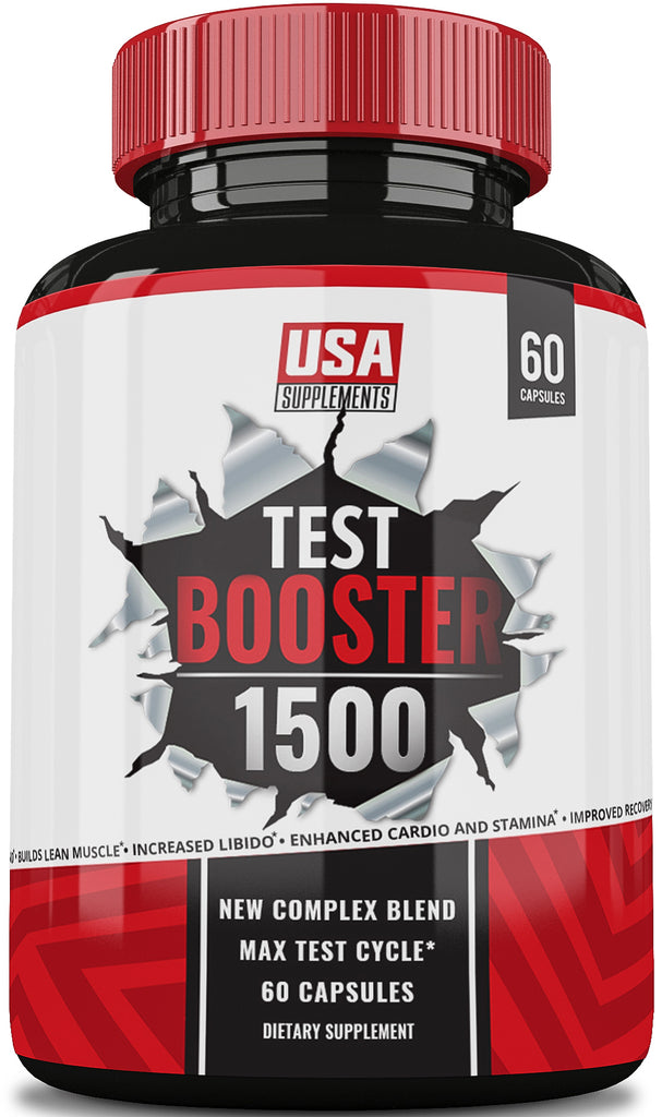 #1 Test Booster Only Available From U.S.A. Supplements - U.S.A. SUPPLEMENTS