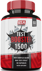 #1 Test Booster Only Available From U.S.A. Supplements