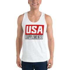 USA Supplements Classic tank top (unisex)