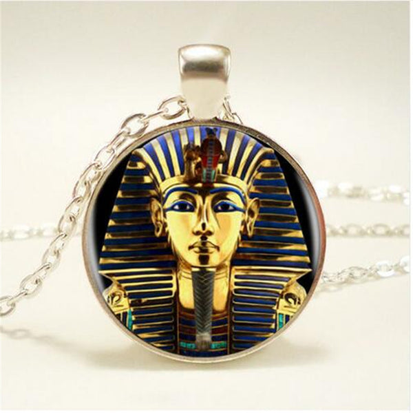 Tutankhamun Golden King Handmade Vintage Necklace