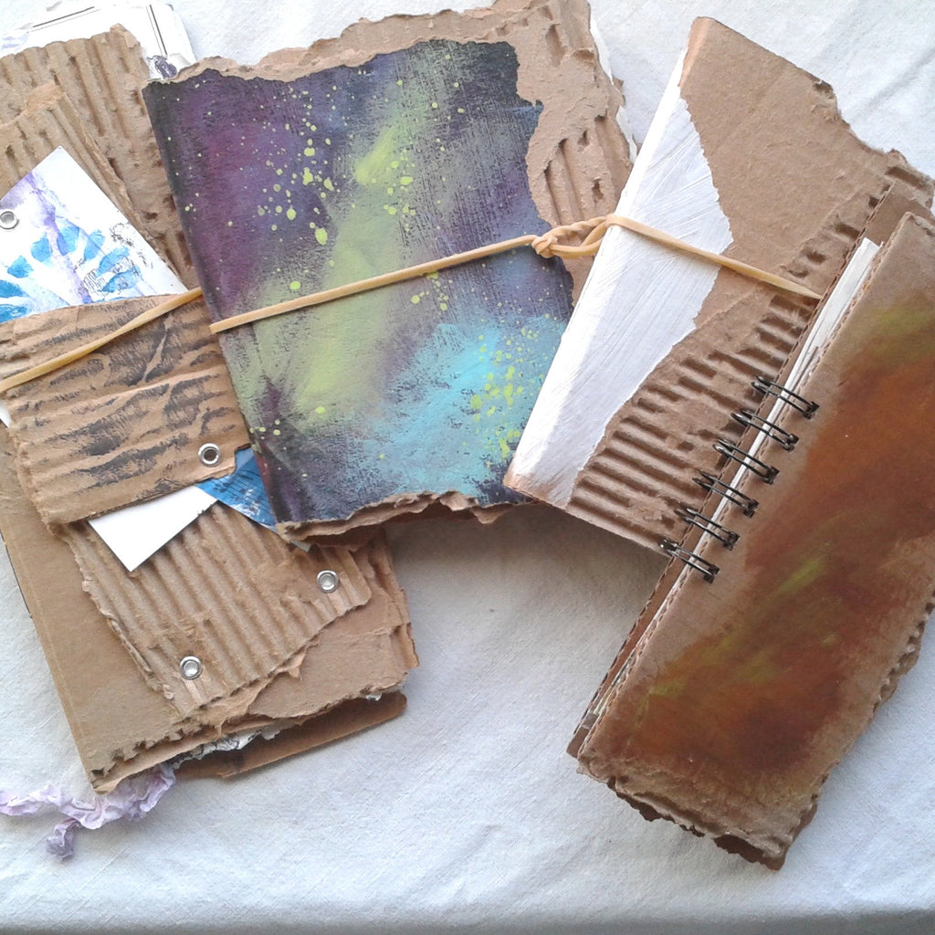 On my worktable: Too Many Journals in Progress