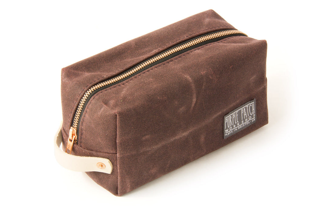 Wash Bag | Burgundy