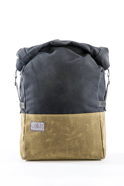 Pannier Bag - Single | Tan & Black