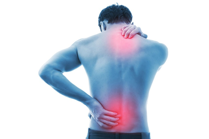 back pain from extended periods of sitting