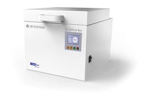The LC-3DPrint Box is a revolutionary light-based UV post-curing unit, specially designed for post-curing 3D printing materials.
