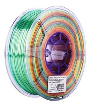 eSun eSilk Rainbow PLA Filament 1.75mm 1kg Spool