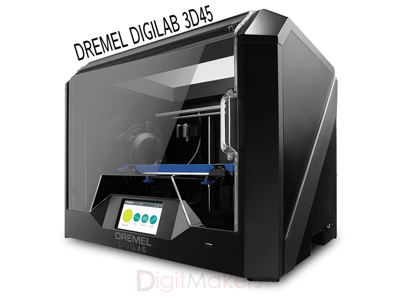 DREMEL DIGILAB 3D45 3D Printer - Digitmakers.ca providing 3d printers, 3d scanners, 3d filaments, 3d printing material , 3d resin , 3d parts , 3d printing services