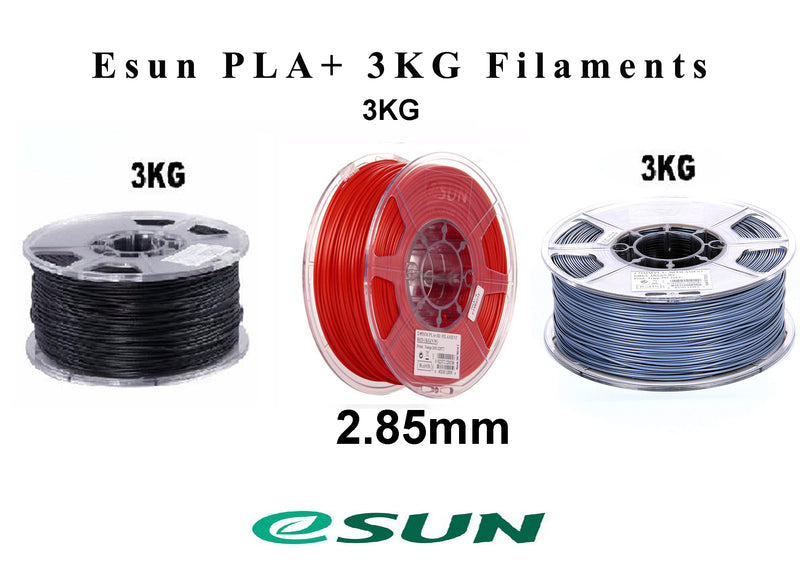 ESun PLA+ Red/White/Grey 2.85 mm 3kg spool - Digitmakers.ca providing 3d printers, 3d scanners, 3d filaments, 3d printing material , 3d resin , 3d parts , 3d printing services