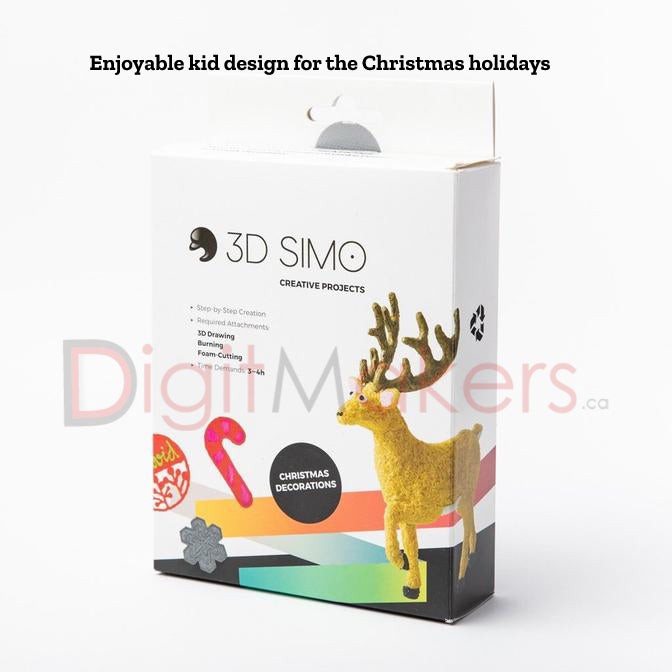 3DSIMO - CREATIVE BOX - CHRISTMAS - Digitmakers.ca providing 3d printers, 3d scanners, 3d filaments, 3d printing material , 3d resin , 3d parts , 3d printing services