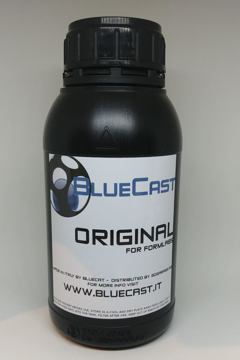 Bluecast Original - Formlabs-500g - Digitmakers.ca providing 3d printers, 3d scanners, 3d filaments, 3d printing material , 3d resin , 3d parts , 3d printing services