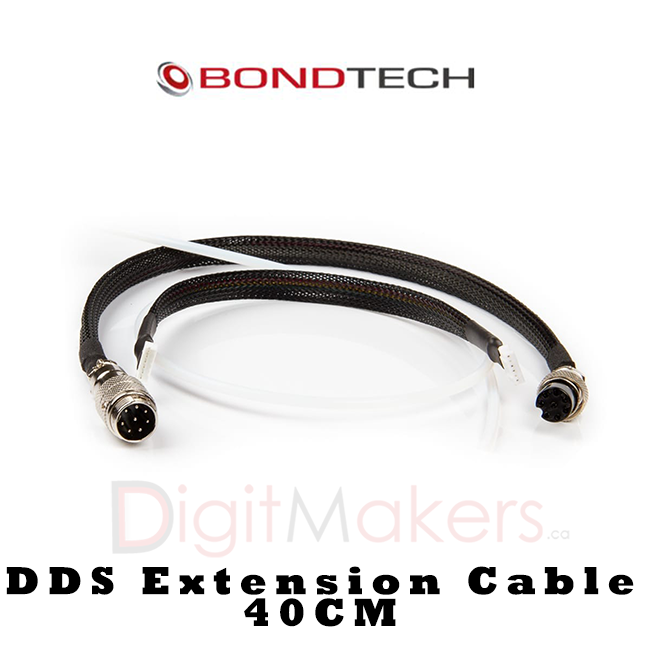 Bondtech DDS Extension Cable 40cm - Digitmakers.ca providing 3d printers, 3d scanners, 3d filaments, 3d printing material , 3d resin , 3d parts , 3d printing services