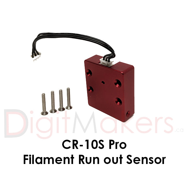 Filament Run-out Sensor for CR-10S Pro - Digitmakers.ca providing 3d printers, 3d scanners, 3d filaments, 3d printing material , 3d resin , 3d parts , 3d printing services