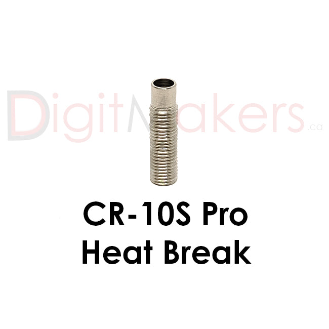 Heat Break for CR-10S Pro - Digitmakers.ca providing 3d printers, 3d scanners, 3d filaments, 3d printing material , 3d resin , 3d parts , 3d printing services