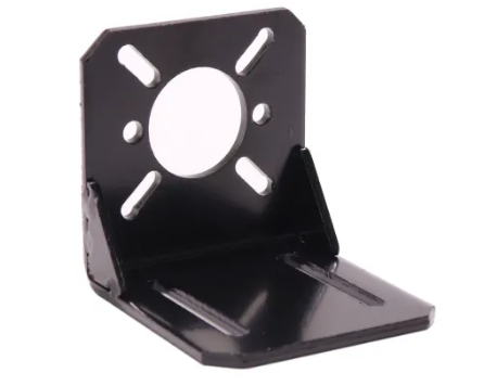 Stepper Motor mount / steel Bracket for Nema 17 - Digitmakers.ca providing 3d printers, 3d scanners, 3d filaments, 3d printing material , 3d resin , 3d parts , 3d printing services