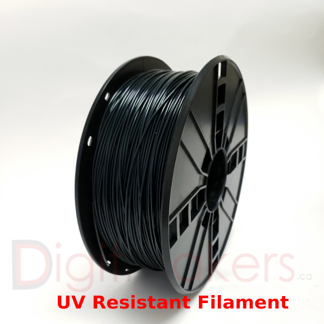 D3D ASA Filament 1.75mm 1kg Spool - Various Colors - Digitmakers.ca providing 3d printers, 3d scanners, 3d filaments, 3d printing material , 3d resin , 3d parts , 3d printing services