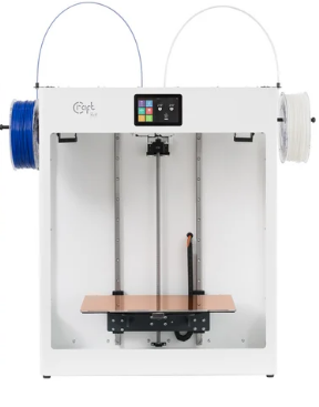The biggest plug and play Craftbot Flow Generation IDEX-XL 3D Printer with build volume 425 x 250 x 500 mm and Direct drive independent dual extruder technology is now available for 3D Priniting Canada community at Digitmakers.ca