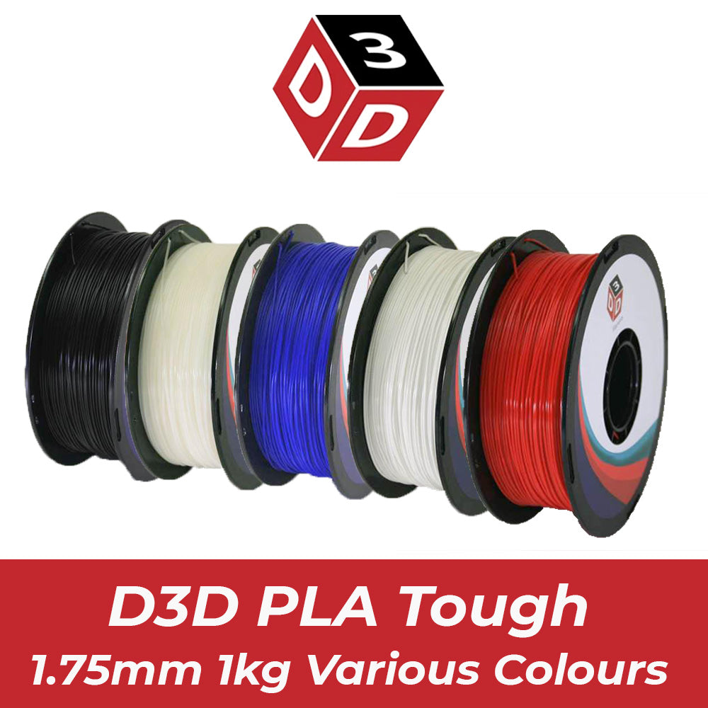 D3D Premium PLA Tough Filament 1.75mm, 1kg Spool