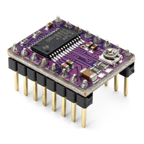 DRV8825 Stepper Motor Driver Carrier- Header Pins Soldered - Digitmakers.ca providing 3d printers, 3d scanners, 3d filaments, 3d printing material , 3d resin , 3d parts , 3d printing services