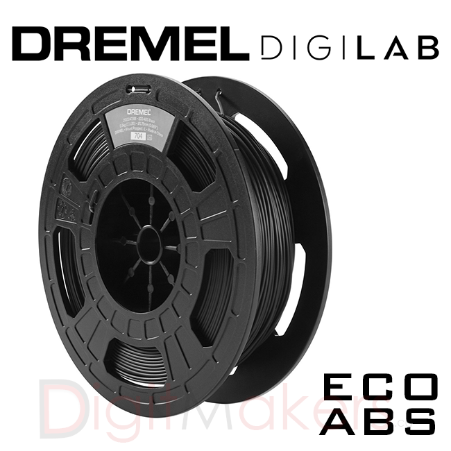 Dremel Digilab 3D Printer Filament ABS 1.75-0.5KG - Digitmakers.ca providing 3d printers, 3d scanners, 3d filaments, 3d printing material , 3d resin , 3d parts , 3d printing services