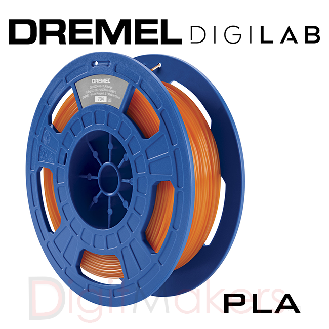 Dremel Digilab 3D Printer Filaments PLA-1.75- 0.5KG - Various Colors - Digitmakers.ca providing 3d printers, 3d scanners, 3d filaments, 3d printing material , 3d resin , 3d parts , 3d printing services