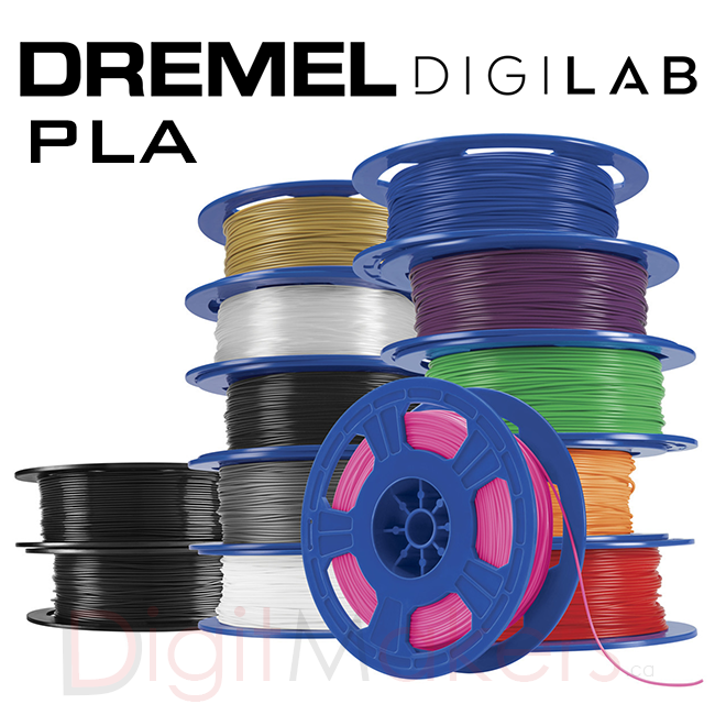 Dremel Digilab 3D Printer Fillaments PLA-1.75- 0.5KG - Various Colors