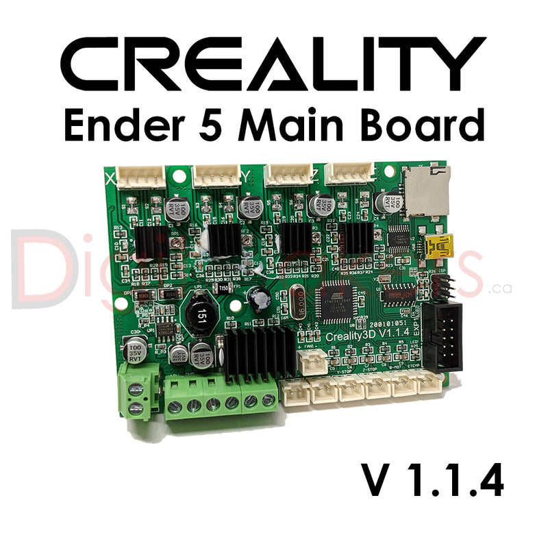 Creality Ender 5 Control Board V1.1.4 - Digitmakers.ca providing 3d printers, 3d scanners, 3d filaments, 3d printing material , 3d resin , 3d parts , 3d printing services